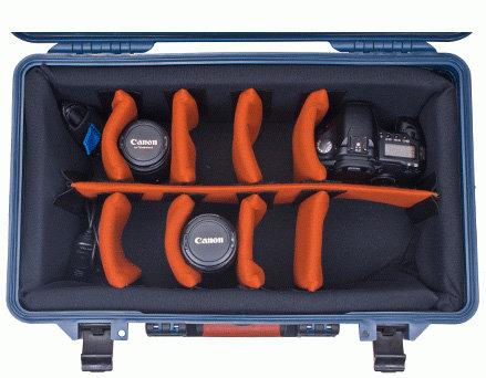 Porta-Brace PB-2550DSLR Medium DLSR Case with Wheels PB2550DSLR