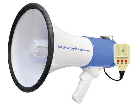 Pyle Pro PMP59IR  50W Rechargable Megaphone PMP59IR
