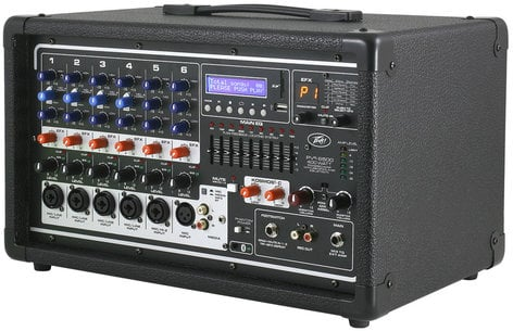Peavey PVi 6500 6 Channel 400W Powered Mixer PVI6500
