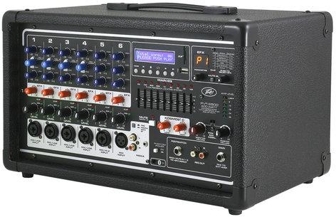 Peavey PVI6500 PVi 6500 6 Channel 400W Powered Mixer PVI6500