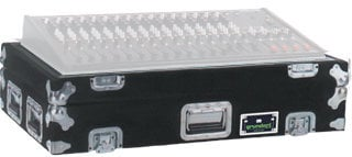 Grundorf Corp M-PRESL22442-DHB Mixer Case for (2) PreSonus StudioLive 24.4.2 with Doghouse in Black M-PRESL22442-DHB