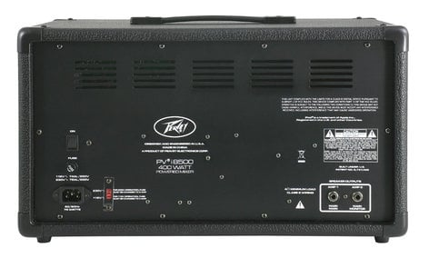 Peavey PVi 8500 8 Channel 400W Powered Mixer with iPod / iPhone Dock PVI8500