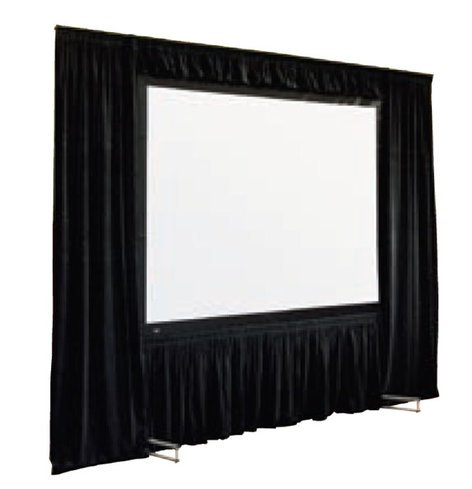 Draper Shade and Screen 220011  Cinefold Dress Kit in Black, 9' x12' 220011