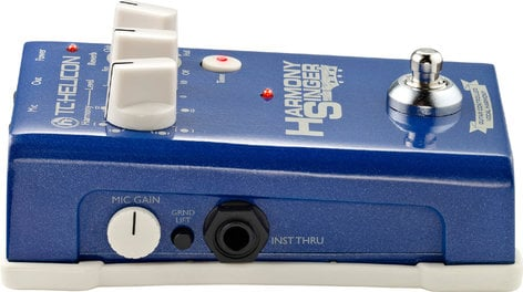 TC Electronic Harmony Singer Guitar-Controlled Vocal Harmony, Tone and Reverb Effects Pedal HARMONY-SINGER