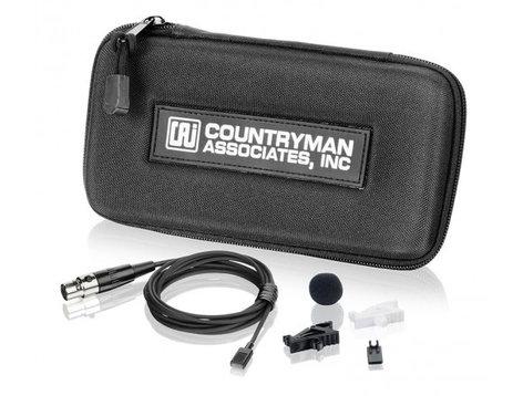 Countryman MEMWS05B-MI EMW Omnidirectional Lavalier with Screw on TA4F Connector for Mipro, Black MEMWS05B-MI