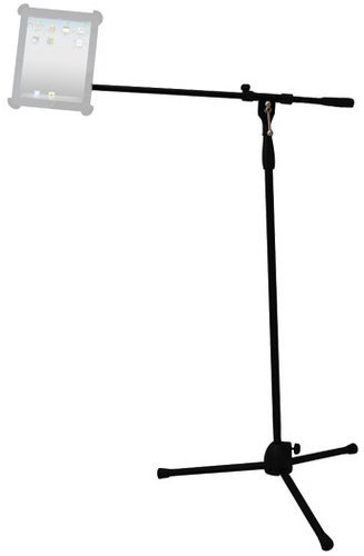 Pyle Pro PMKSPAD1 Tripod Base iPad/Microphone Stand PMKSPAD1