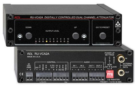 Radio Design Labs RUVCA2A Stereo Attenuator RUVCA2A