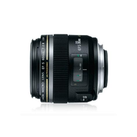 Canon 0284B002 Canon Macro Lens, EF-S 60mm f/2.8 Macro USM 0284B002