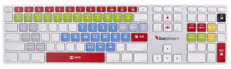 Livestream Studio™ Keyboard for Livestream Studio™ Products LS-KEYBOARD