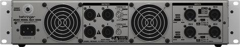 Behringer NU4-6000 4-Channel 6000 Watt Power Amplifier NU4-6000