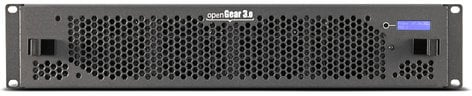 Blackmagic Design OG3-FR-C-P openGear® 3.0 21-Slot Frame with Cooling Fans, Basic Networking and Power Supply OG3-FR-C-P