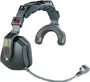 Eartec Co TCSUSEC-MS TCS Wired Single Muff Headset with Microphone and Mute Switch TCSUSEC-MS
