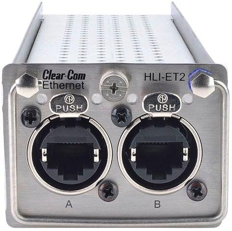 Clear-Com HLI-ET2  HelixNet Ethernet Linking Interface Module HLI-ET2