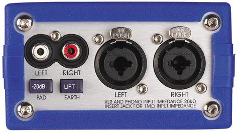 Klark Teknik DN200 Active Stereo DI Box DN200
