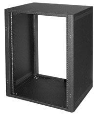 Lowell LDTR-1418 14RU Desktop Rack with Front & Rear Rails LDTR-1418