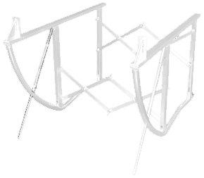 TMB PRSEZTILTSLEG  Replacement Leg for EZ-Tilt Console Stand PRSEZTILTSLEG