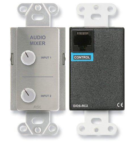 RDL DS-RC2  Remote Audio Mixing Control for Two Sources DS-RC2