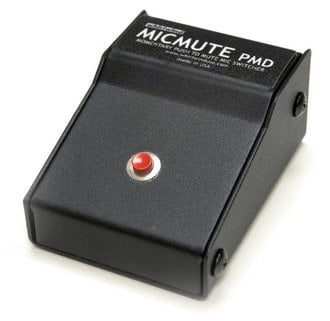 Whirlwind MICMUTE-PMD Desktop Microphone Mute with Momentray Push to Mute Switch MICMUTE-PMD