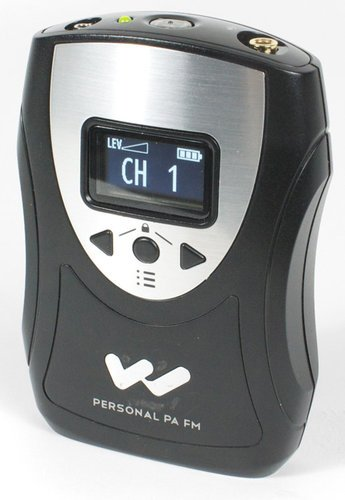 Williams Sound PPA T46 Personal PA® Bodypack Transmitter PPA-T46