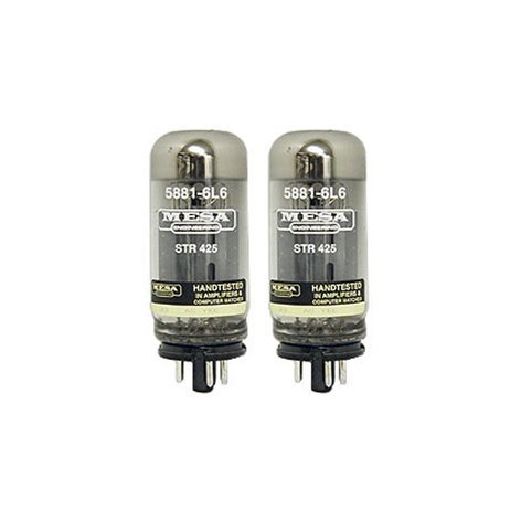 Mesa Boogie Ltd 5881-6L6-STR-425 Pair of 6L6 Power Vacuum Tubes 5881-6L6-STR-425