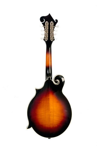 The Loar LM-520-VS Performer Series Gloss Vintage Sunburst F-Style Mandolin with Hand-Carved Top LM-520-VS