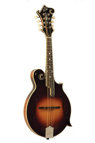 The Loar LM-600-VS Professional Series Gloss Vintage Sunburst F-Style Mandolin with Hand-Carved Top LM-600-VS
