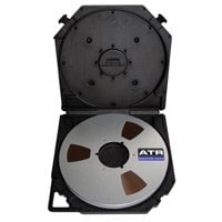 "ATR Magnetics ATR40907 1/4"" x 2500 ft. Master Tape on 10.5"" NAB Reel with Tape Care Box ATR40907"