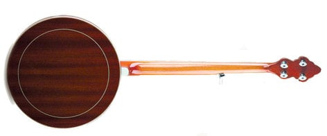 Recording King RK-R20 Songster Flathead Resonator Banjo with Brass Tone Ring RK-R20