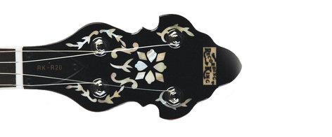 Recording King RK-R20 Songster Flathead Resonator Banjo with Brass Tone Ring RK-R20