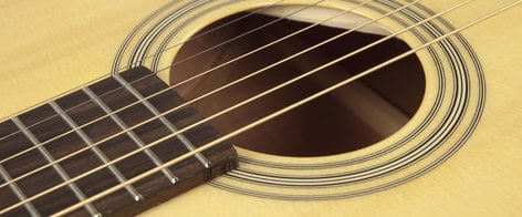 Recording King RP-06 Gloss Natural 0-Style Acoustic Guitar with Sitka Spruce Top RP-06
