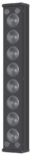"Innovox Audio MLA-8 8 x 1"" 20W Micro Line Array Speaker MLA-8-BLK"