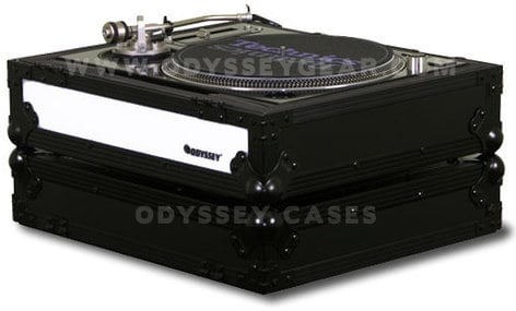 Odyssey FFXDJ1200BL  Flight FX Series Standard Position Case for Technics 1200-Style Turntable FFXDJ1200BL