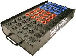 Whirlwind SB16T11G 16-Channel Microphone Splitter SB16T11G