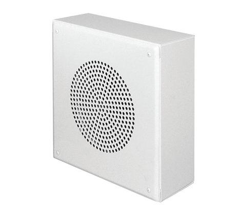 Quam SYSTEM6VPS Wallmount Speaker Assembly in Stainless Steel Finish SYSTEM-6-VPS