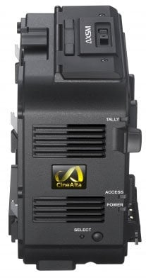 Sony AXS-R5 2K & 4K RAW Recorder for PMW-F5, PMW-F55 and NEX-FS700 with HXR-IFR5 AXSR5
