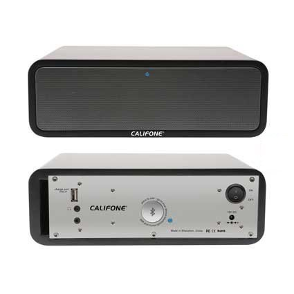 Califone PA-BT30 Active Portable Speaker with Bluetooth Wireless Technology PA-BT30