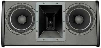 "Electro-Voice FRI-2082-BLK Dual 8"" Two-Way Full-Range Installation Loudspeaker FRI-2082-BLK"