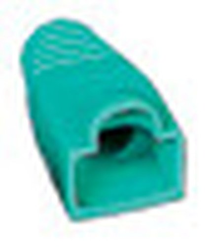 Liberty AV Solutions BOOT-S-GN  50-Pack of Snag-Free RJ45 Connector Strain Relief Boots in Green BOOT-S-GN