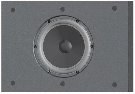 "Innovox Audio Micro-Sub 6 6"" 175W @ 8 Ohms Subwoofer MICRO-SUB-6-BLACK"
