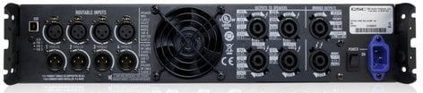 QSC PLD4.2-NA 4-Channel 400W at 4 Ohms Power Amplifier PLD4.2-NA