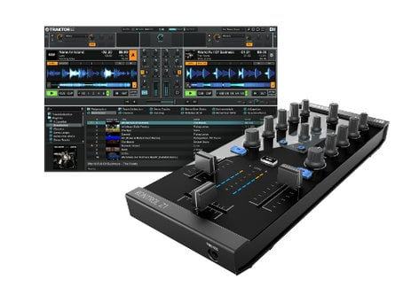 Native Instruments Tractor Kontrol Z1 2-Ch DJ Mixer/Controller/Audio Interface TRAKTOR-KONTROL-Z1