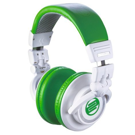 Reloop RHP-10 CERAMIC MINT On-Ear Headphones with Green & White Colors RHP-10-MINT