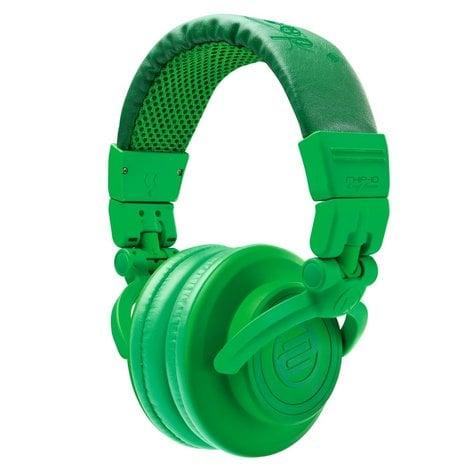Reloop RHP-10-LEAF GREEN On-Ear Headphones Glow in the Dark Green RHP-10-LEAF