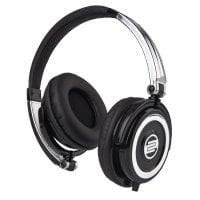 Reloop RHP-5-CHROME On-Ear DJ Headphones in Solid Chrome RHP-5-CHROME