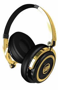 Reloop RHP-5-GOLD On-Ear DJ Headphones in Gold RHP-5-GOLD