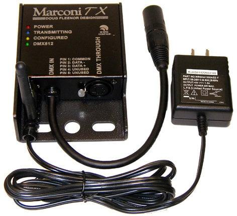 Doug Fleenor Designs Marconi TX 5-Pin Wireless DMX512 Transmitter MARCONI-TX