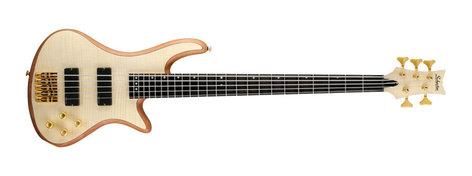 Schecter Guitars Stiletto Custom 5 5-String Electric Bass Guitar with EMG 40Hz Pickups STILETTO-CUSTOM-5