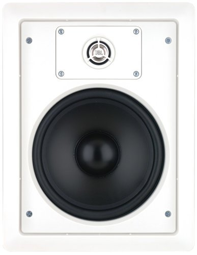 "JBL Control 128 WT 8"" 2 Way In-Wall Loudspeaker in White with 70/100V Transformer CONTROL-128WT"