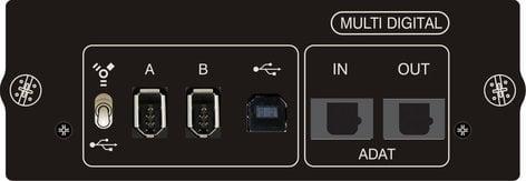 Soundcraft Si Multi-Digital Card USB/FireWire/ADAT Option Card for Si Series Mixers SI-MULTI-DIGITAL-CRD