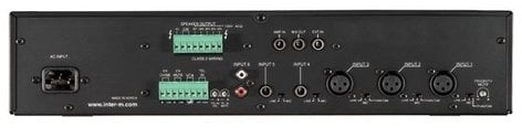 Inter-M Americas Inc MA-206USB 60 Watt Mixer Amplifier with Built in MP3 Player and USB MA-206USB